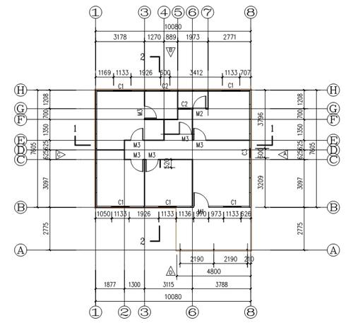 Prefab steel villa steel structures structural steel for Prefab columns