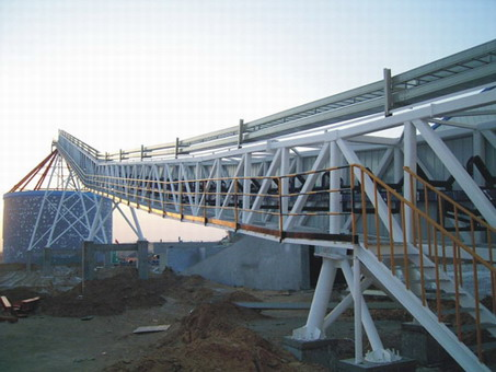 Steel Structural Corridor for Conveyor System
