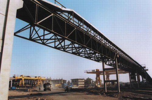 Steel Structural Corridor for Conveyor System2