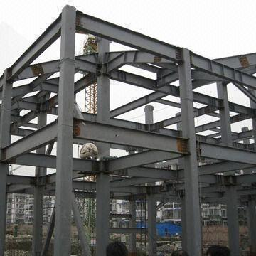 Steel structure warehouse steel structures structural for Structural beams for houses