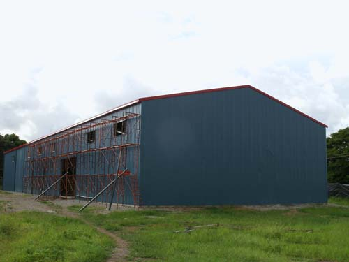 Steel structure warehouses