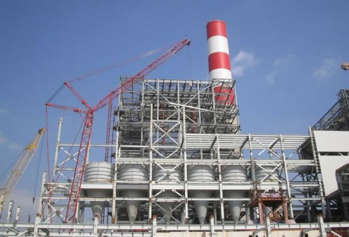 Power Plant Steel Structure