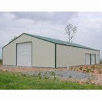 Warehouse with Stable Steel Structure, Good Appearance and High Space Efficiency